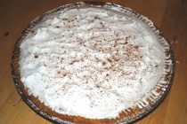 Finished Cinnamon Cream Cheese Pie