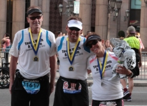 Wholesome CEO Nigel Willerton at Boston Marathon