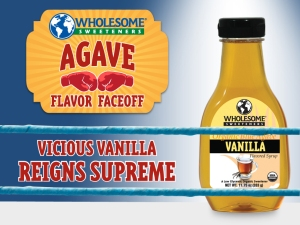 Vicious Vanilla Winner of Agave Flavor Faceoff!